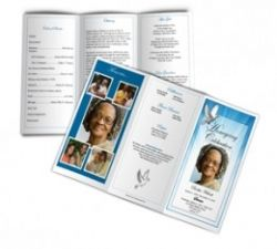 make your own funeral programs a funeral program is a loving