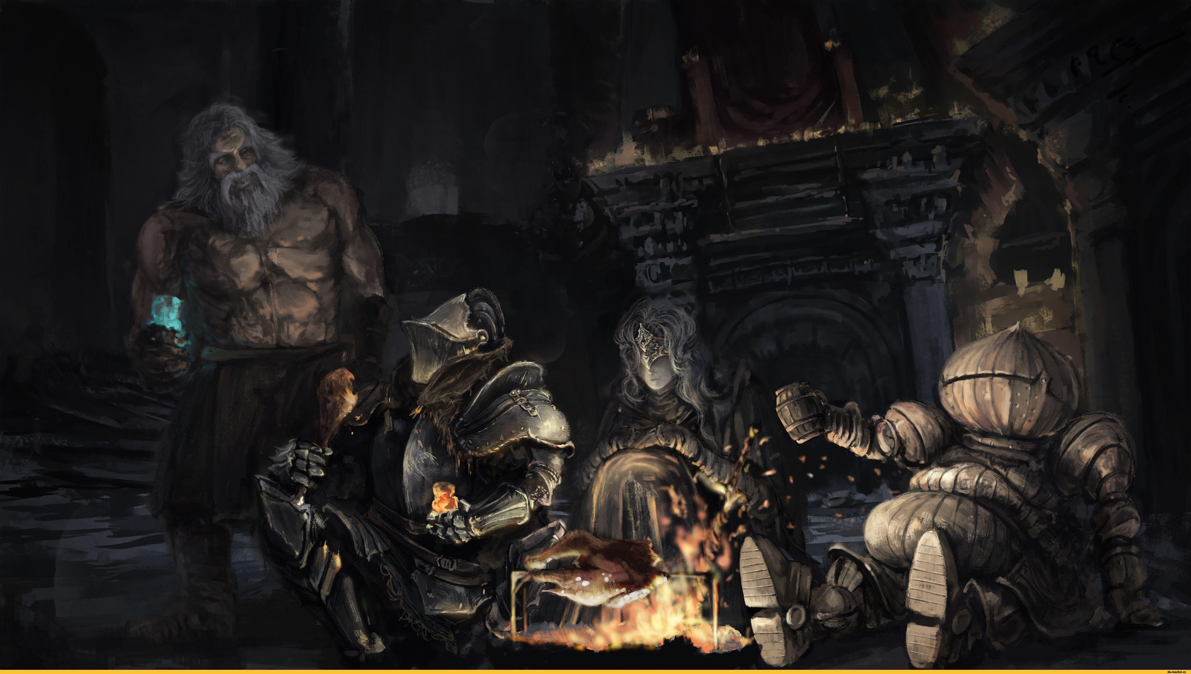 Andre Of Astora Ashen One Dsiii Personazhi Dark Souls 3 3851862