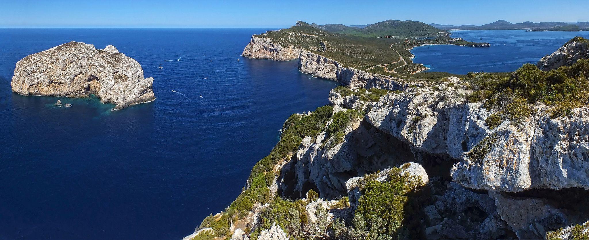 Capo Caccia Natural Marine Riserve Alghero Nurra Region Sardegna Sardinia Outdoor Nature Pictures