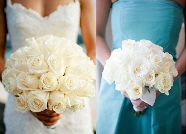 carnet d 39 inspiration le bouquet de roses wedding pinterest roses blanches bouquets de. Black Bedroom Furniture Sets. Home Design Ideas