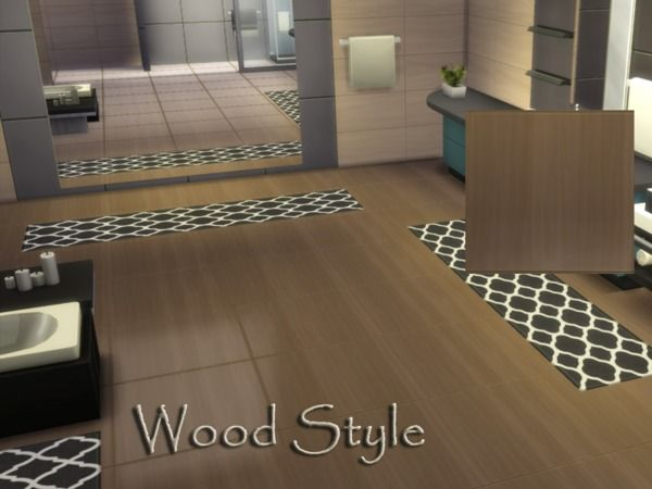 The Sims Resource Wood Style floor by millasrl  Sims 4 Downloads  Sims 4 games  Sims Sims 4