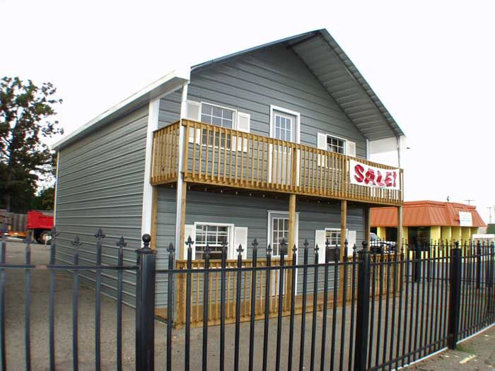 awesome 2 story metal buildings #4: Steel Two Story Building