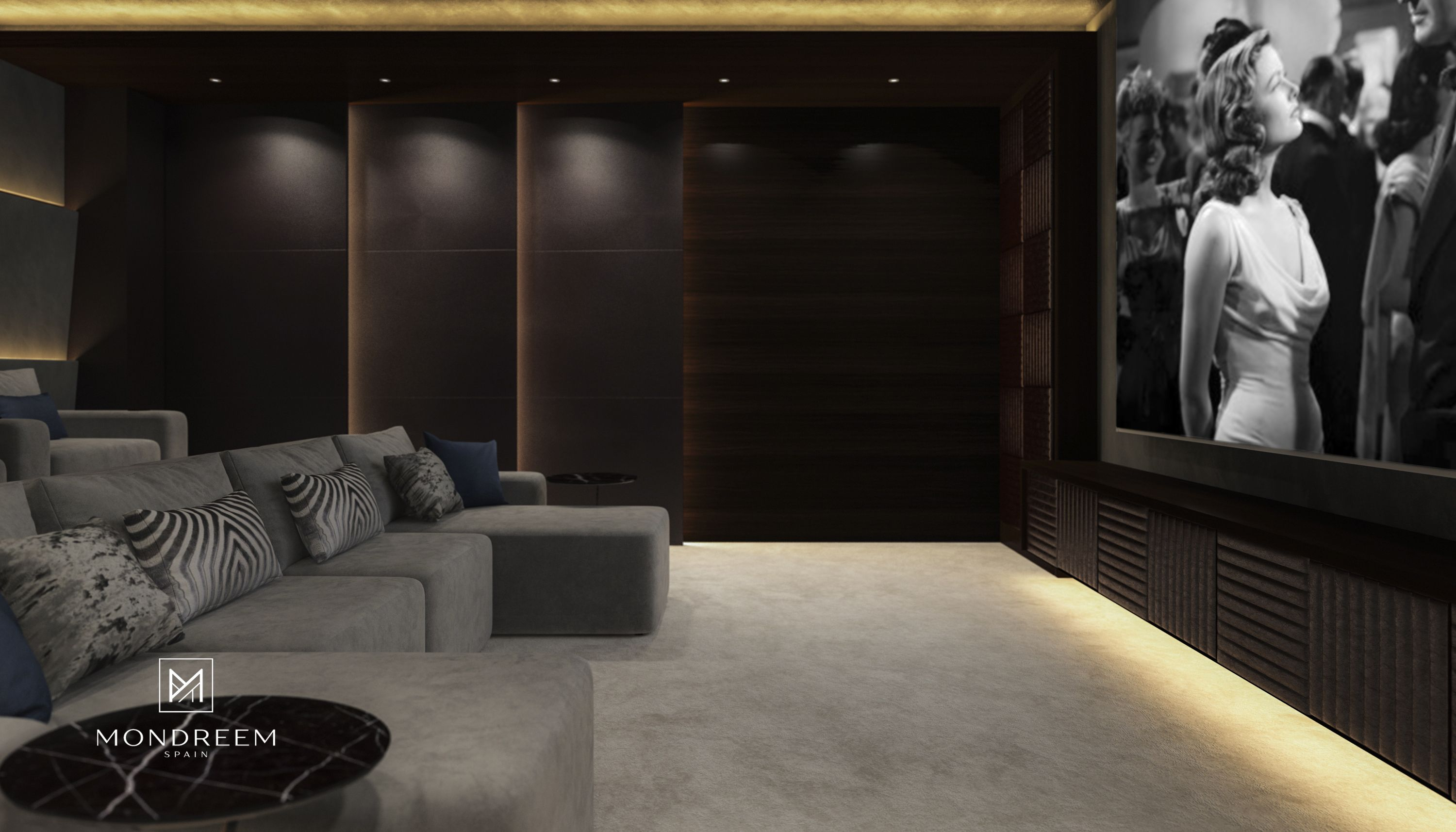 Addis views villa ethiopia mondreem interiors home cinema