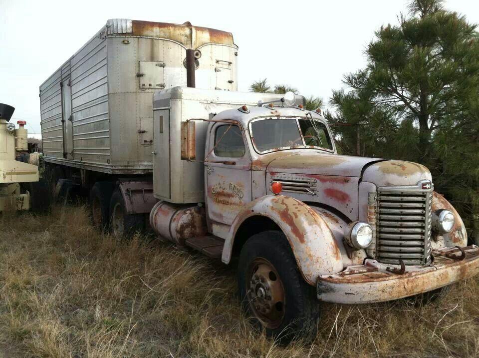 Old Gas Job Big Trucks Big Rig Trucks Antique Trucks