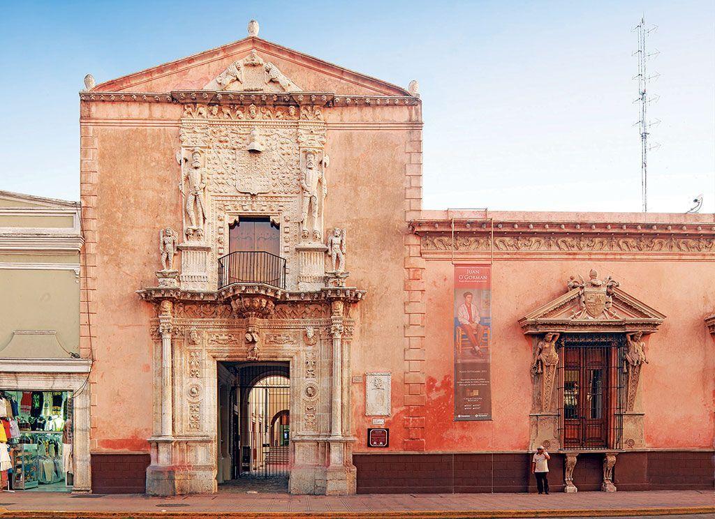 Este grabado de la casa de montejo joya del plateresco for Casas de la epoca actual