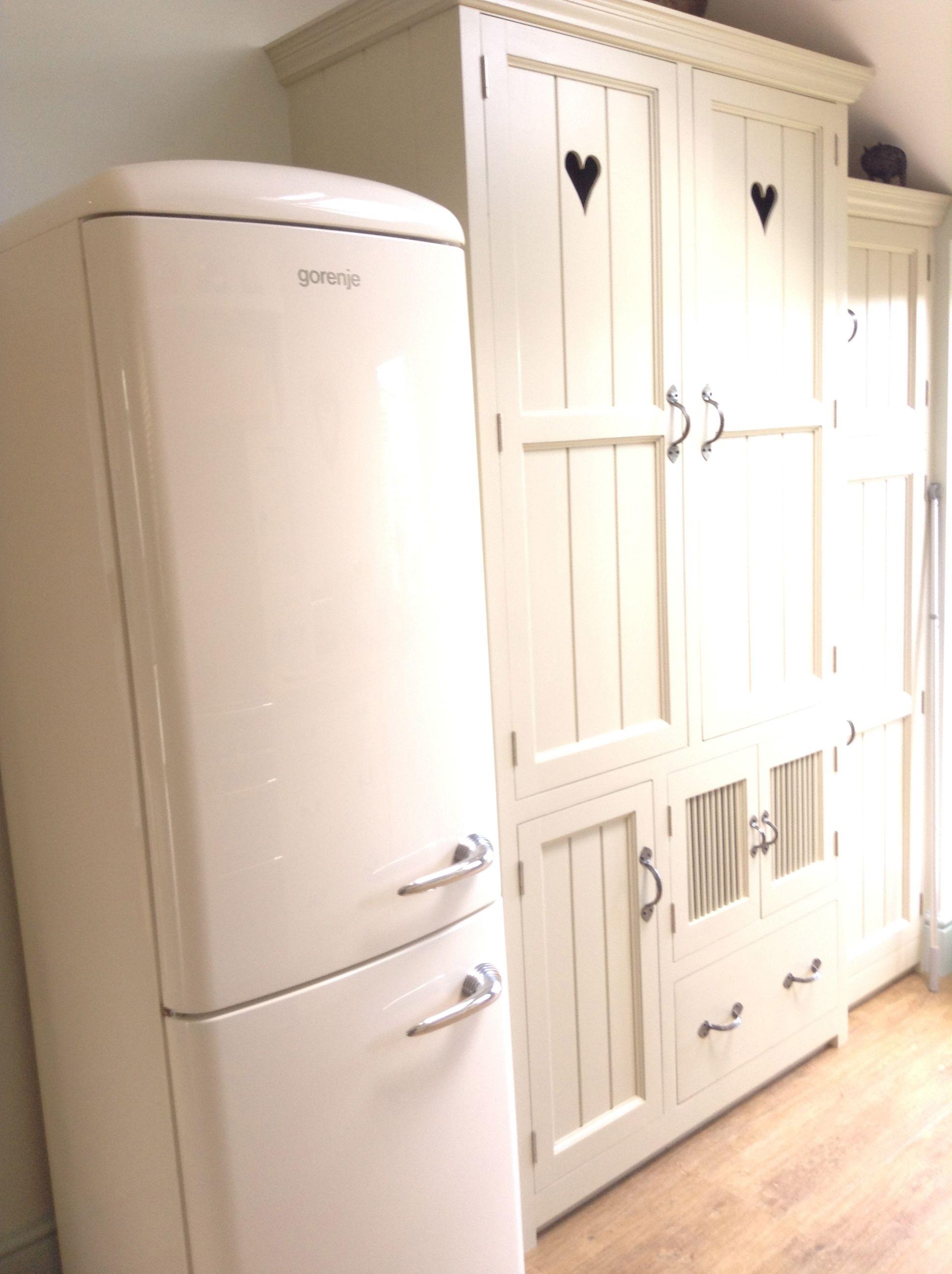 Gorenje Retro fridge freezer Luxury refrigerator, Retro