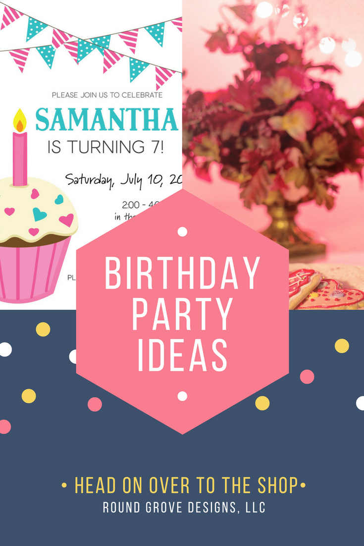 Birthday Invitation|Girls Birthday|Cupcake Birthday Party ...
