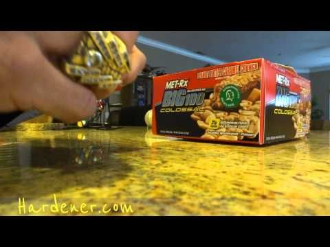 Healthy Candy Bar Protein Bars MET-Rx Big 100 Colossal Peanut Butter Caramel Crunch Video Review - http://prepping.fivedollararmy.com/uncategorized/healthy-candy-bar-protein-bars-met-rx-big-100-colossal-peanut-butter-caramel-crunch-video-review/