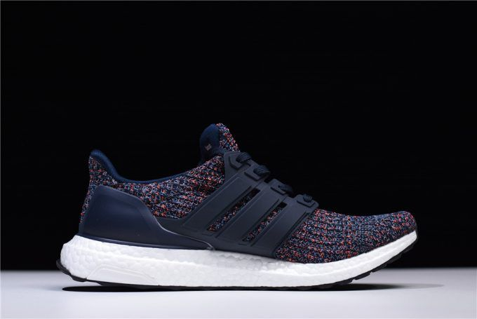 "efd7a3e060b79 2018 Cheap Adidas Ultra Boost 4.0 ""Navy Multicolor"" Navy Blue BB6165 ..."