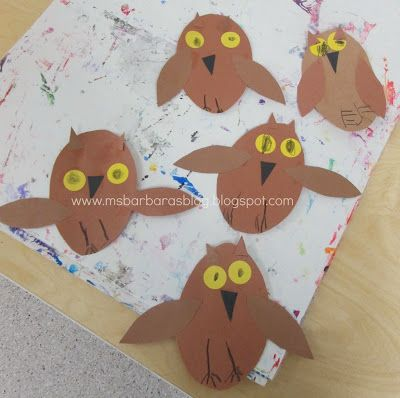 For the Children: Whooo's Having an Owl-Fall Lot of Fun at Preschool??