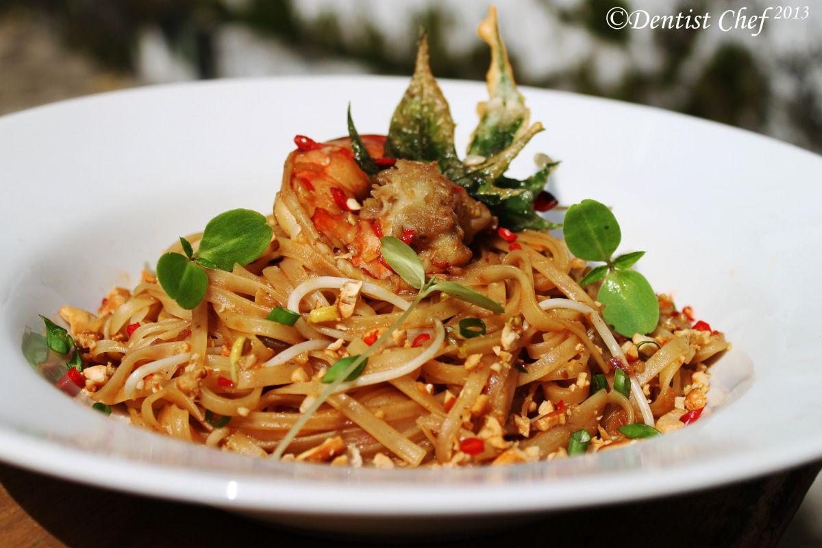 Pad Thai Shrimp Rice Noodle Recipe Popular Thailand Street Food On Tablefare Shrimp And Rice Shrimp Rice Noodles Rice Noodle Recipes