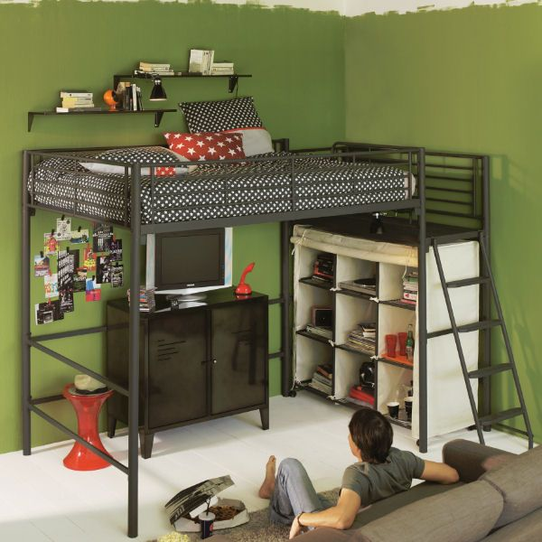 mezzanine l 39 am nagement gain de place par excellence en. Black Bedroom Furniture Sets. Home Design Ideas