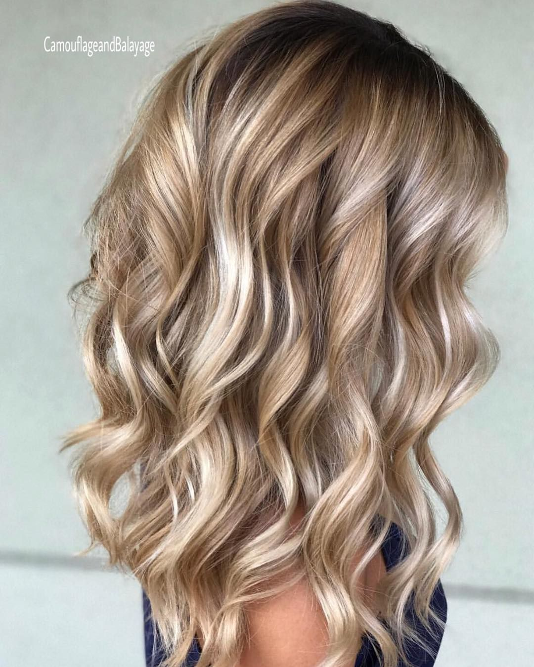 40 Blonde Hair Color Ideas With Balayage Highlights: Pin Od Oliwia Zalewska Na Fryzury
