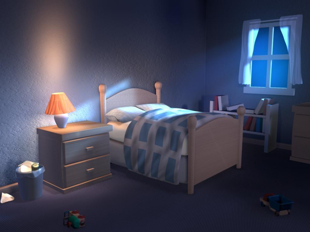 Kids Bedroom Night hình ảnh có liên quan | anime - nhà cửa, căn hộ, chung cư