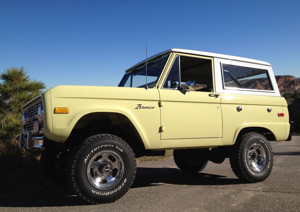 1976 Ford Bronco Ranger Fully Restored With Original Factory Glen Green Paint 5 0 Fuel Injected V8 2 5 Inch S Dream Cars Jeep Diesel Trucks Ford Dream Cars