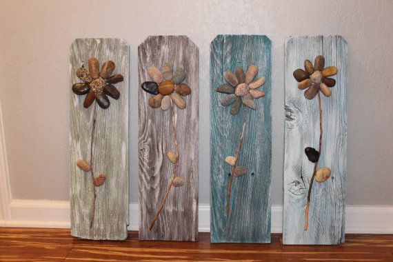 Art culos similares a muestra de madera reciclada rock 3d - Articulos de madera para manualidades ...