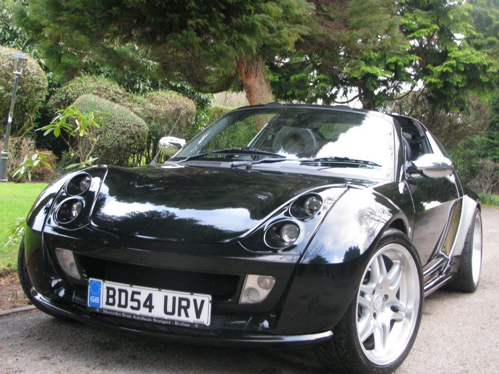 smart roadster coupe brabus 2dr auto 0 7 2004 buying a. Black Bedroom Furniture Sets. Home Design Ideas