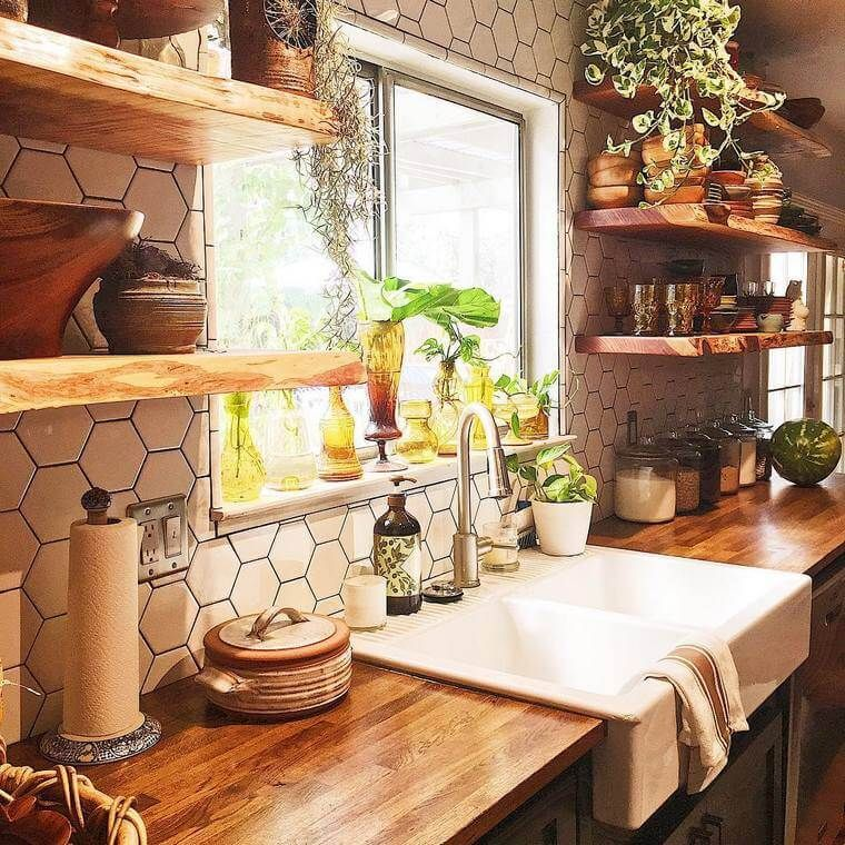 Styling A House Kitchen In Boho Style Design Is Quite