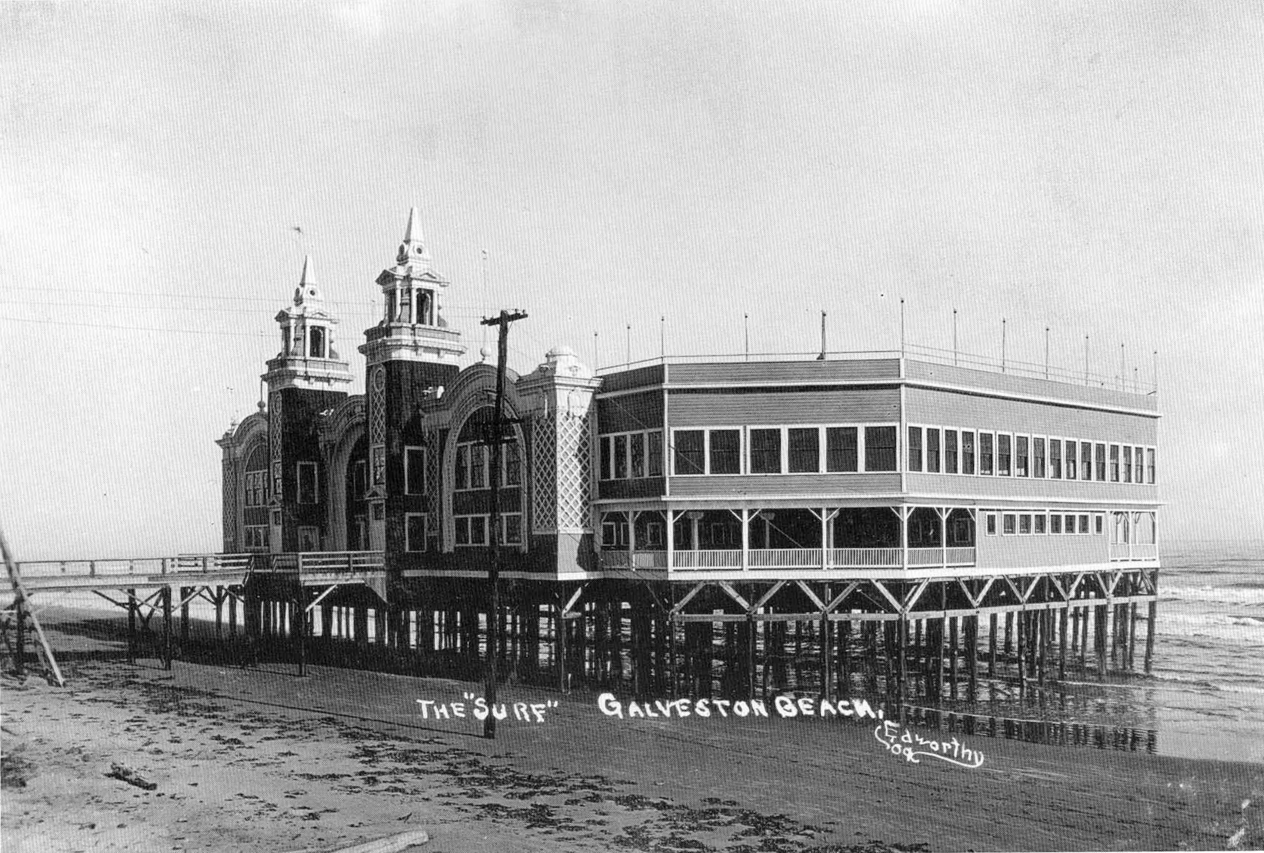 Pleasure Pier Galveston Late 1800 S Bet They Never Thought It Would Be Like It Is Today Galveston Texas Galveston Galveston Island