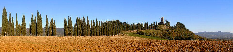 Castel Di Romena, Tuscany