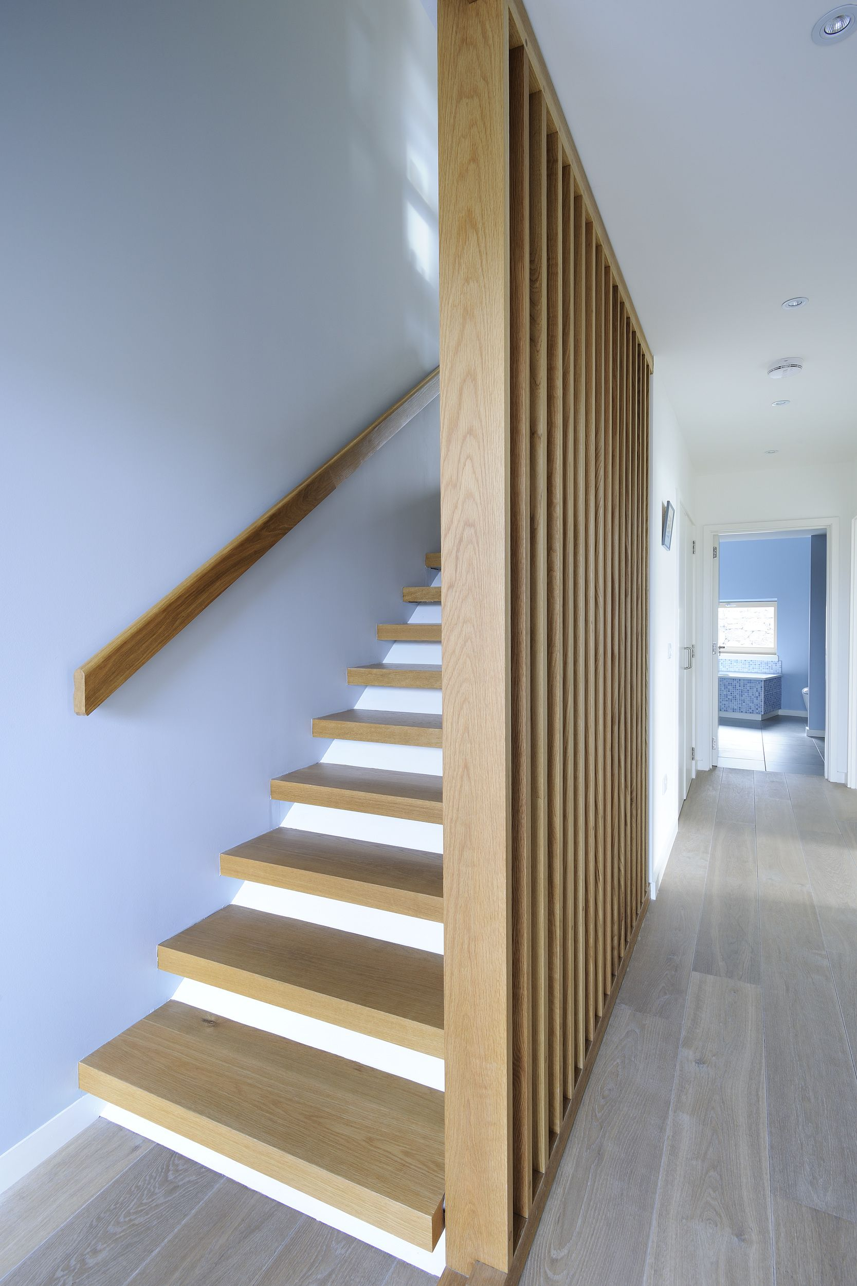 Holz Geländer Treppe Streichen Rhue Rural Design Architects Isle Of Skye And The Highlands