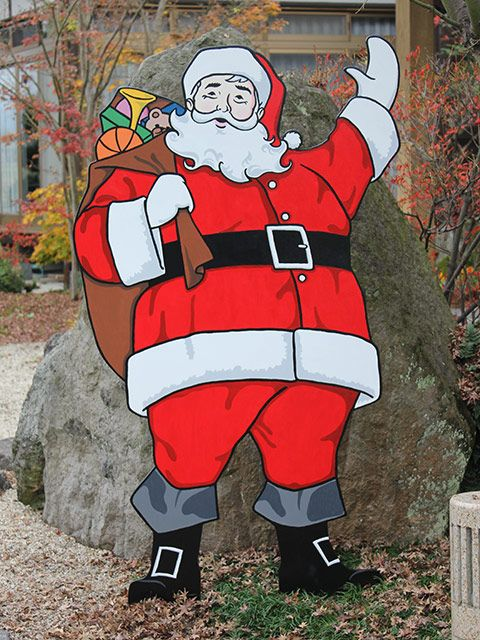 Plywood christmas cutouts handmade signs and woodworking for Wooden christmas cutouts