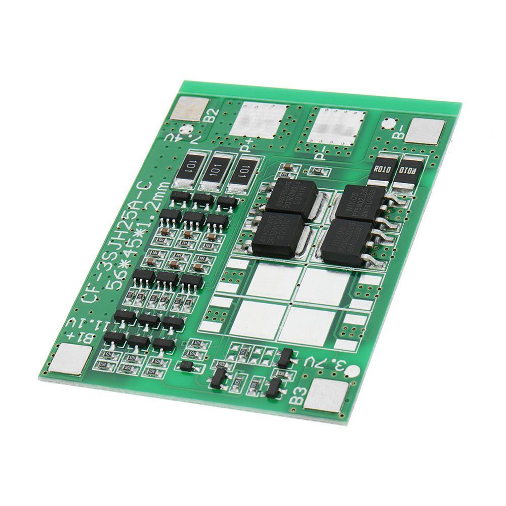 299 Dc 12v 12a Three String Battery Protection Board Panels Solar Street Light Circuit Lights Sprayer With Balanced