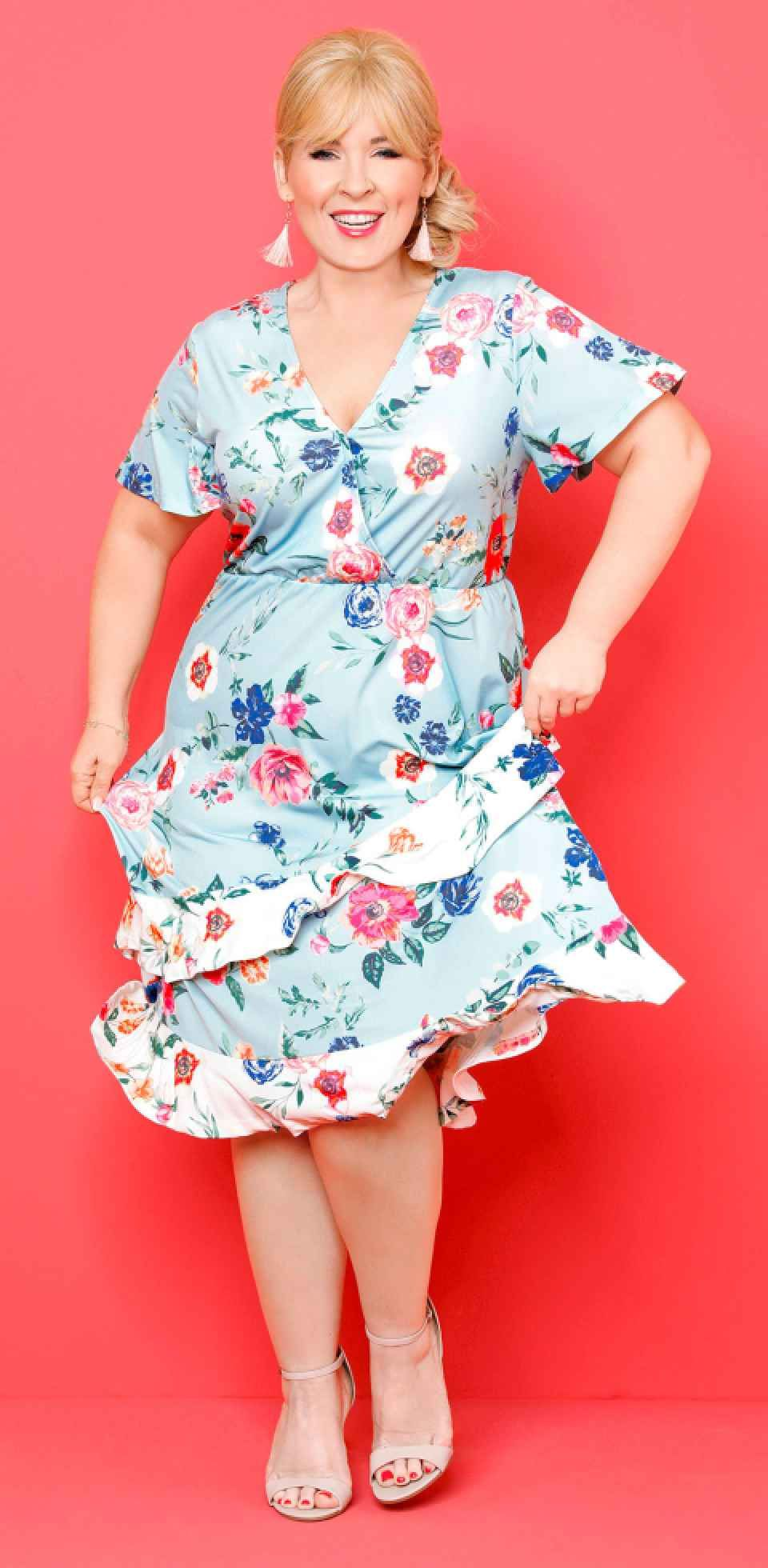 Damen - Kleid in Wickeloptik - designt von Maite Kelly ...