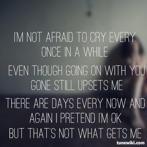 Lyricart For What Hurts The Most By Rascal Flatts Music Pinterest