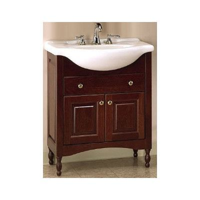 Empire Industries Windsor Narrow Depth Bathroom Vanity Base Size Delectable Narrow Depth Bathroom Vanity Design Ideas