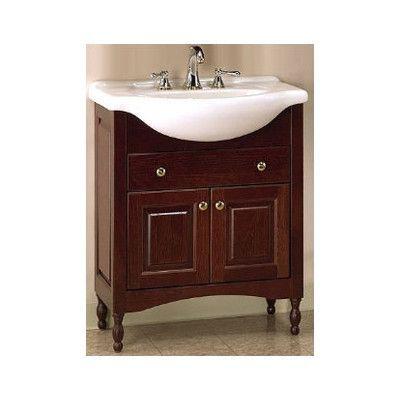 Pin On Home Ideas, Narrow Depth Bathroom Vanity
