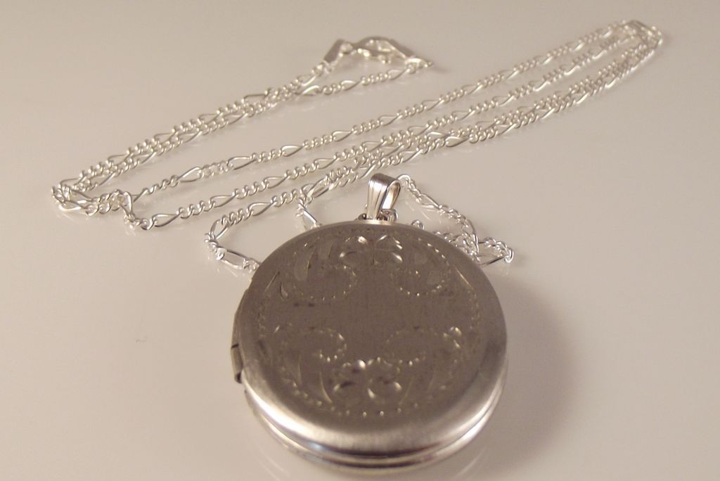 30-60% OFF~Sterling Locket/chain by Beau~ WAS 99.00 NOW $65.00