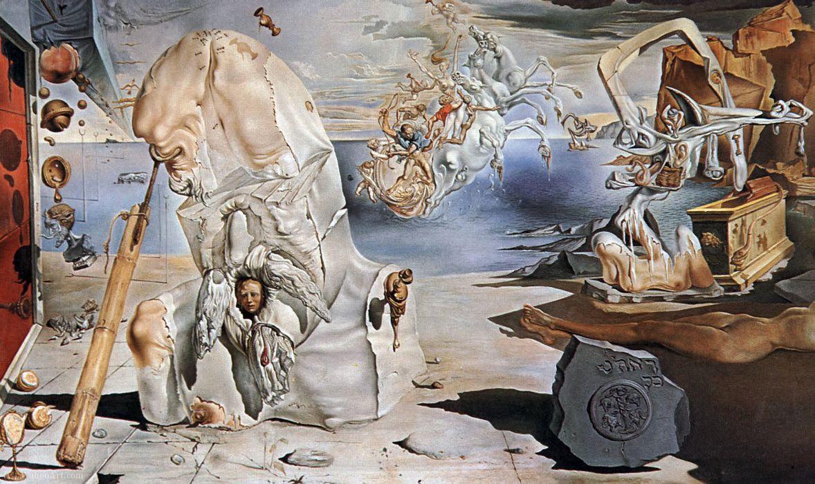 Buy Salvador Dali The Apotheosis Of Homer 1944 45 Artwork Reproduction Copy Painting Salvador Dali Salvador Dali Art Dali Paintings