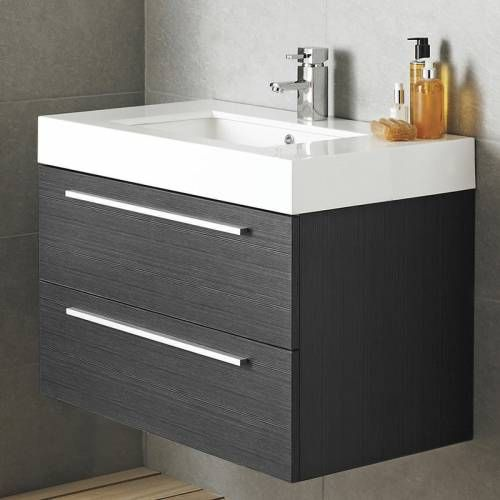 Meuble Sous Lavabo Suspendu 800x600x480mm A 498 Ikea Bathroom Vanity Bathroom Vanity Units Ikea Bathroom