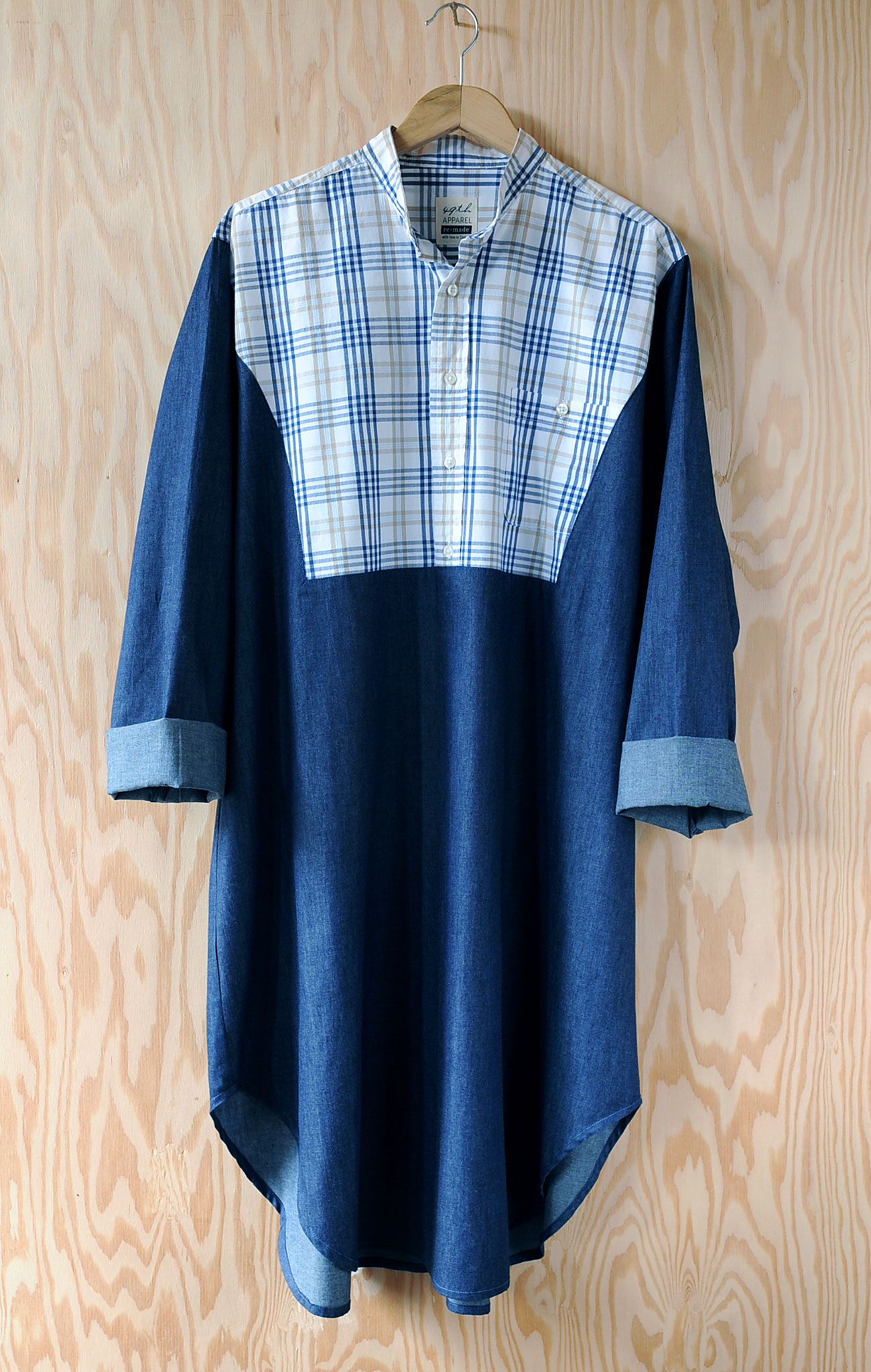 Re Made Nightshirt 0023 M 49th Apparel Re Made Pinterest
