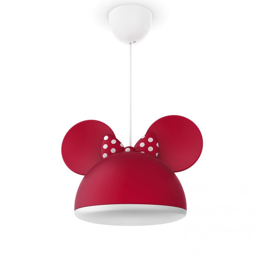 Philips disney minnie mouse kids ceiling pendant light from childrens ceiling lights uk bedroom lighting shop litecraft arubaitofo Choice Image