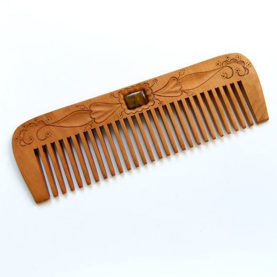 Wooden Hair Comb Personalized Womens Gifts By Mariya4woodcarving