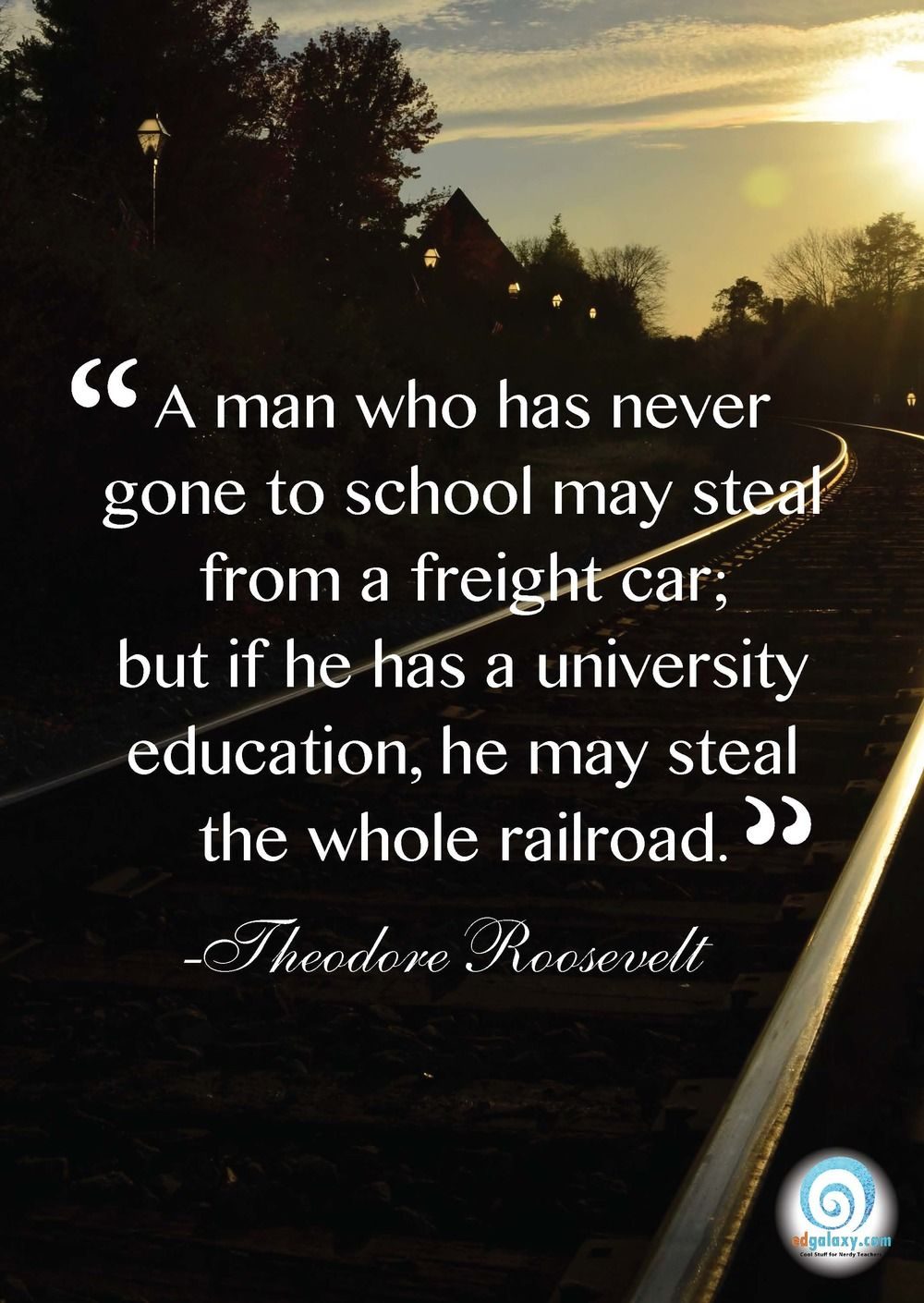 Famous Education Quotes Theodore Roosevelt  Great Quotes  Pinterest  Education Quotes