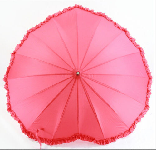 20.65$  Buy here - http://virtd.justgood.pw/vig/item.php?t=tn5oaw447129 - Fiber lace heart-shaped creative umbrella sunshade umbrella straight shank Art