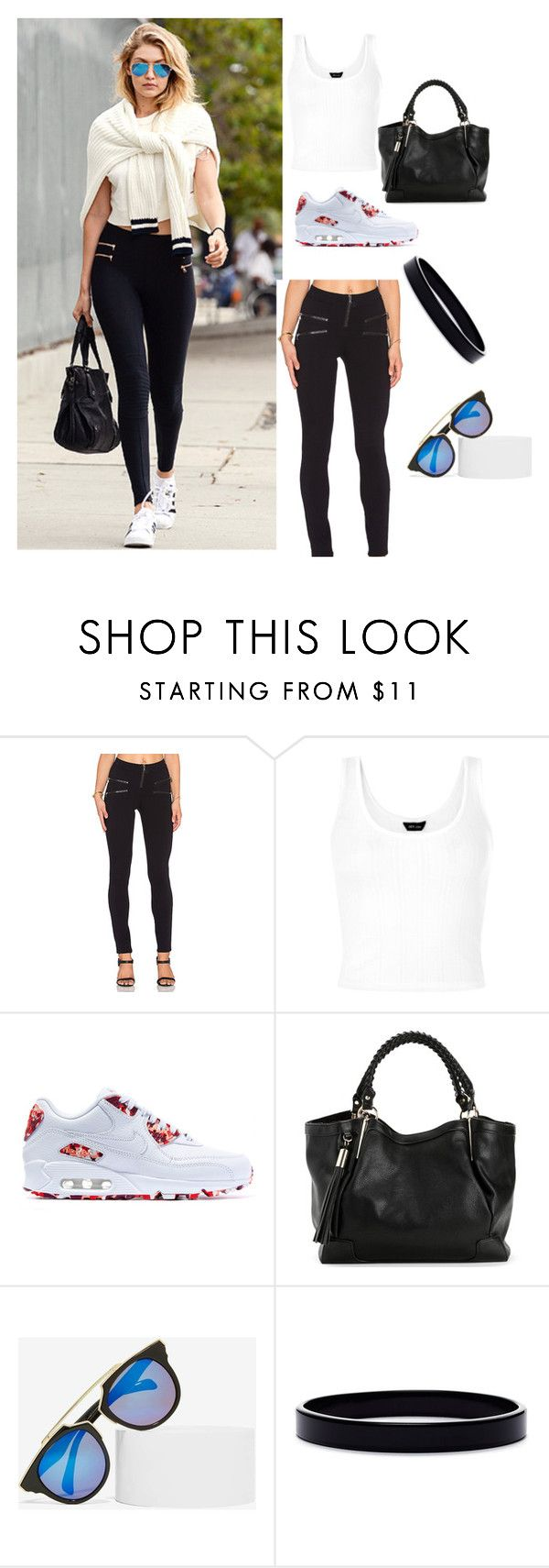 Untitled #264 by sparkle-4 on Polyvore featuring Twenty, NIKE, L. Erickson and Lucent