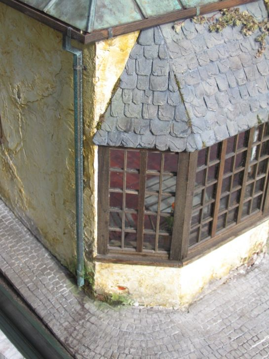 How To Make Slate Roof Dollhouses Pinterest Maison