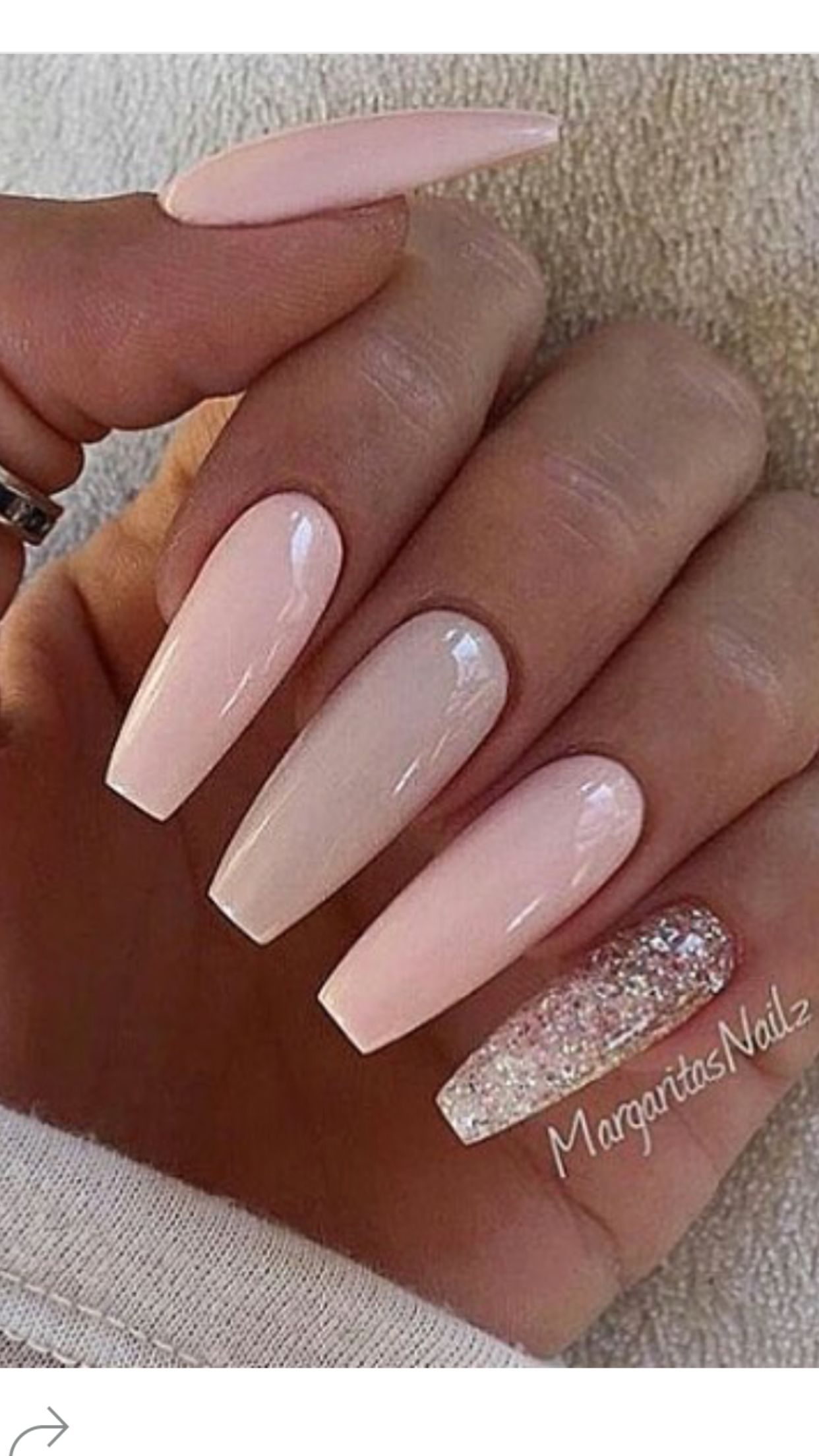 Pin on Pink and nude nail designs by MargaritasNailz