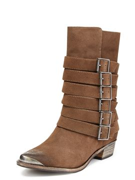 Pico Pointed-Toe Buckle Boot from Trending Now: Shoes Feat. Splendid on Gilt
