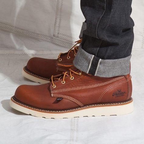 91a5e97ea6f Thorogood Men's American Heritage Six-Inch Plain-Toe Boot - Google ...