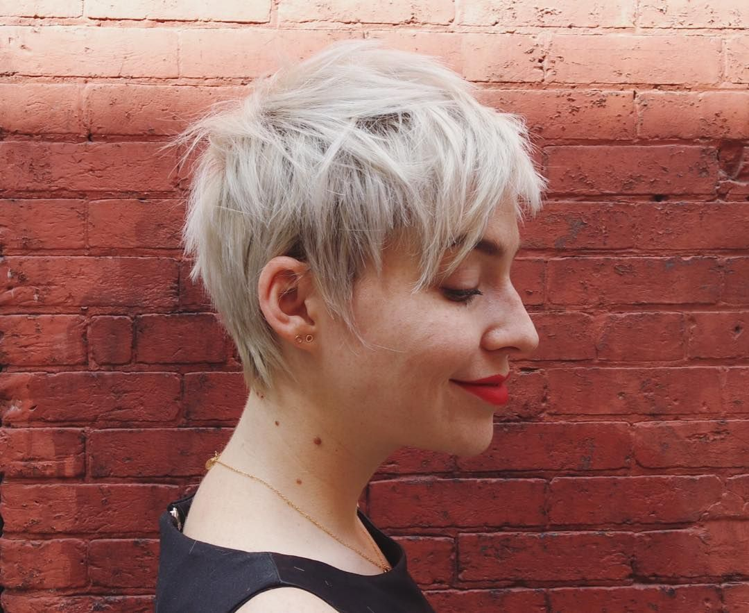 Nice playful ideas for short shag haircuts change the things up