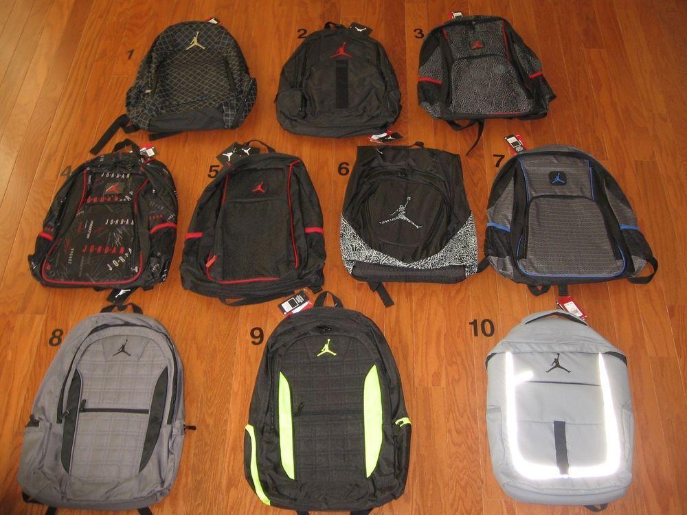 eBay  Sponsored NIKE AIR JORDAN Jumpman Backpack LAPTOP Bag NWT ... c74afdb341160