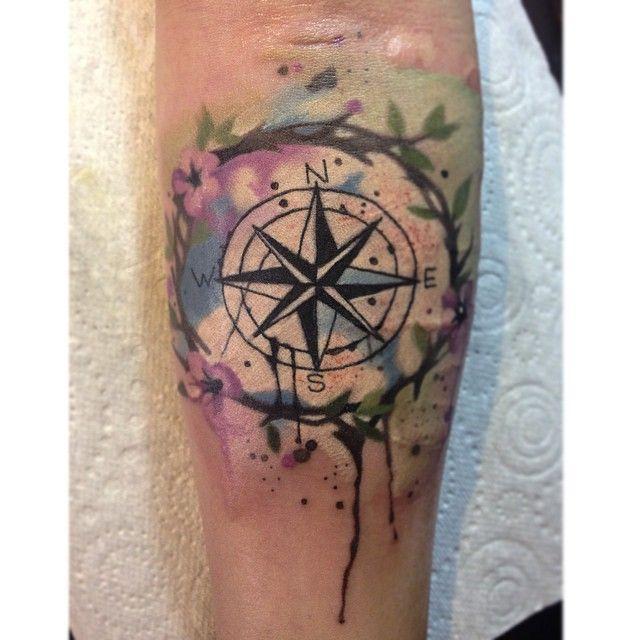 watercolour flower tattoo forearm - Google Search