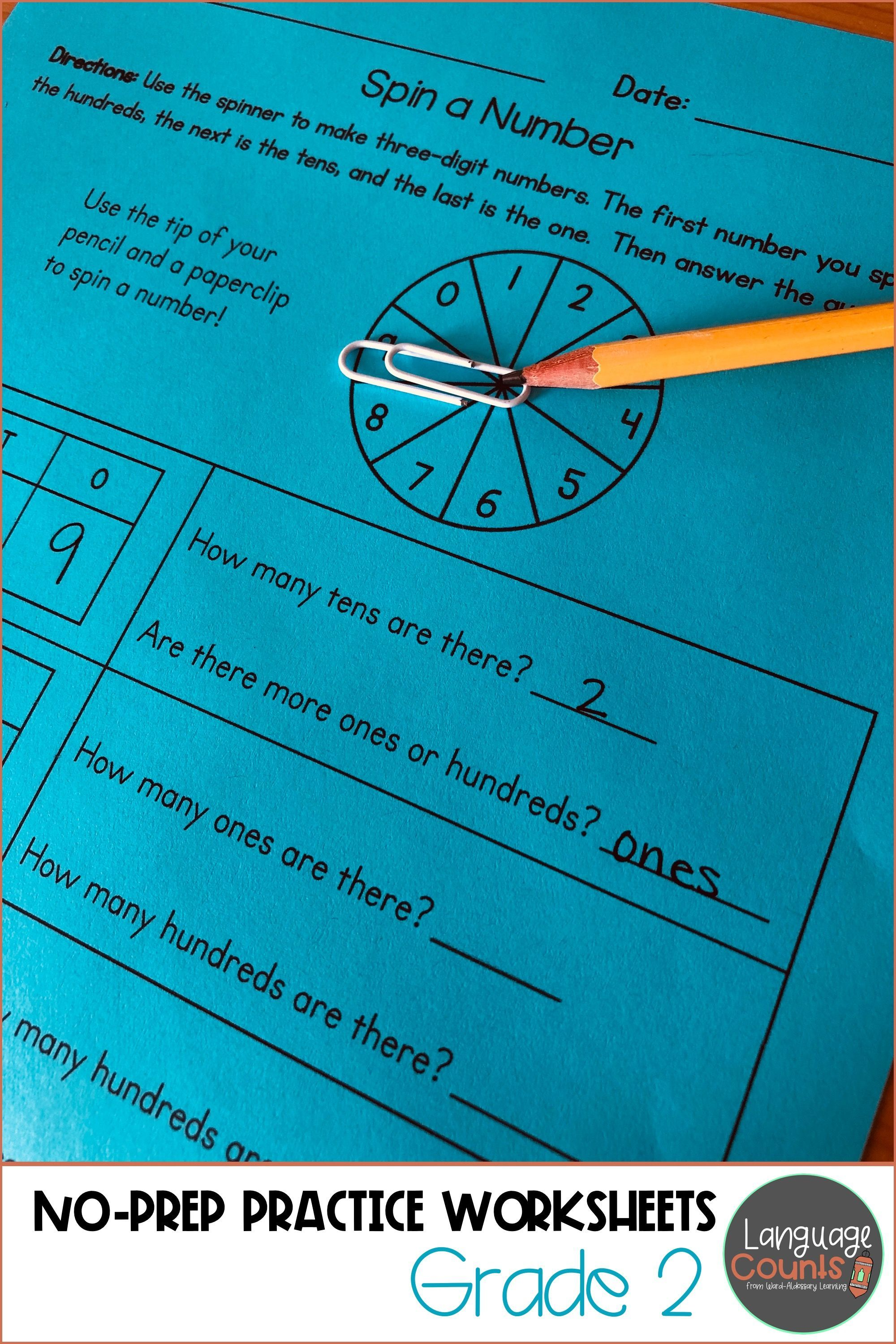 Common Core Aligned Second Grade Math Worksheets That