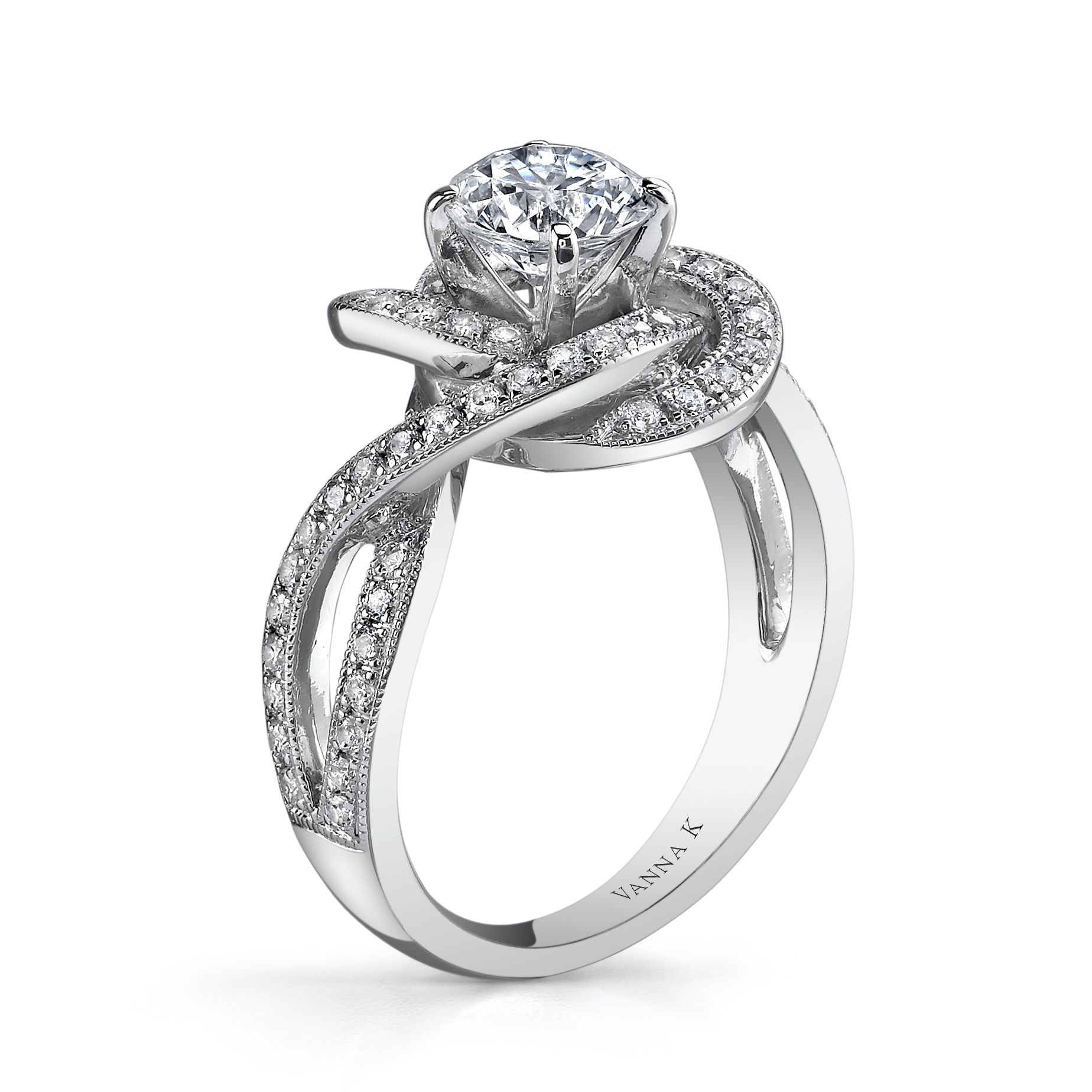 """VannaK.com Declare Your Love With This """"Lovers Knot"""" Ring"""