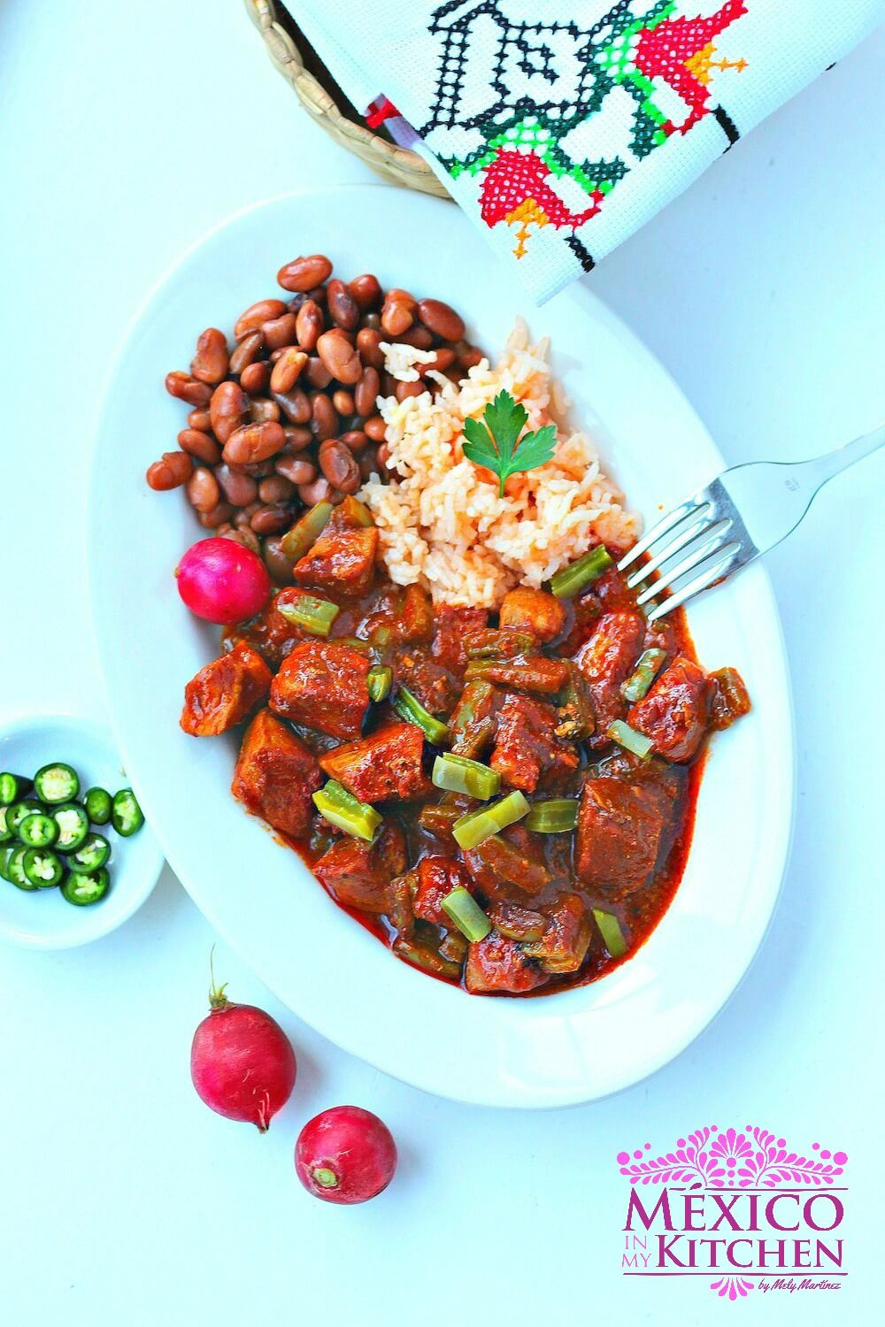 Chile colorado recipe authentic mexican recipe pork and nopales chile colorado recipe authentic mexican recipe pork and nopales few ingredients are needed forumfinder Images